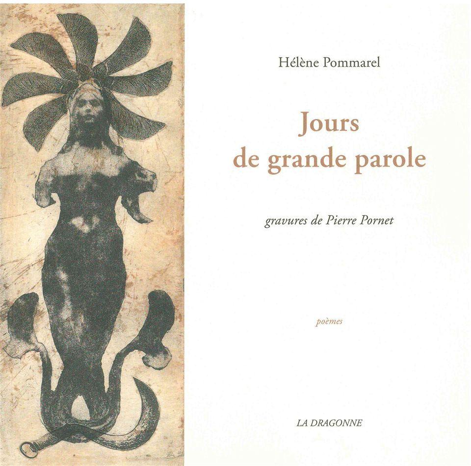 JOURS DE GRANDE PAROLE - GRAVURES DE PIERRE PORNET