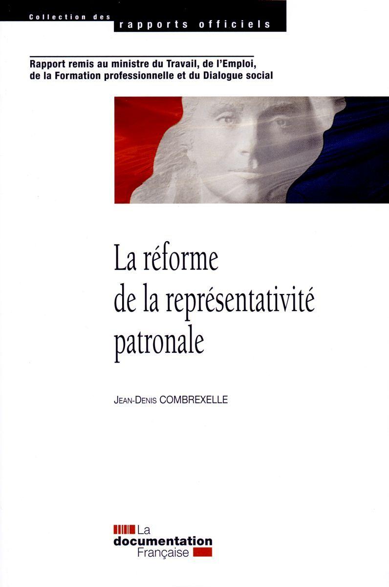 REFORME DE LA REPRESENTATIVITE PATRONALE (LA)