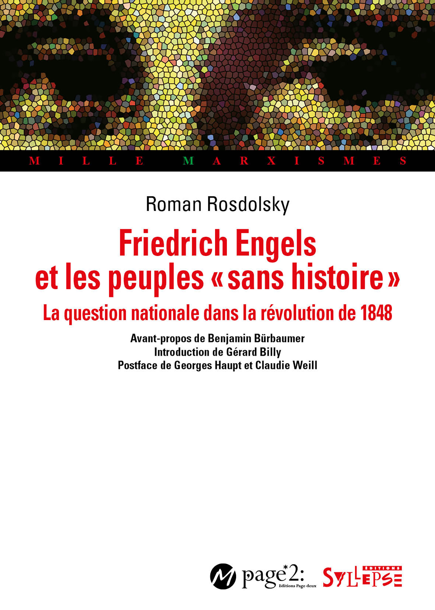 FRIEDRICH ENGELS ET LES PEUPLES  SANS HISTOIRE  - LA QUESTION NATIONALE ET LA REVOLUTION DE 1848