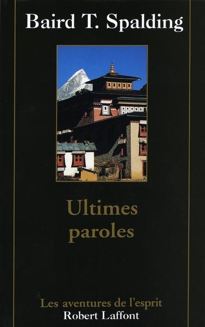 ULTIMES PAROLES