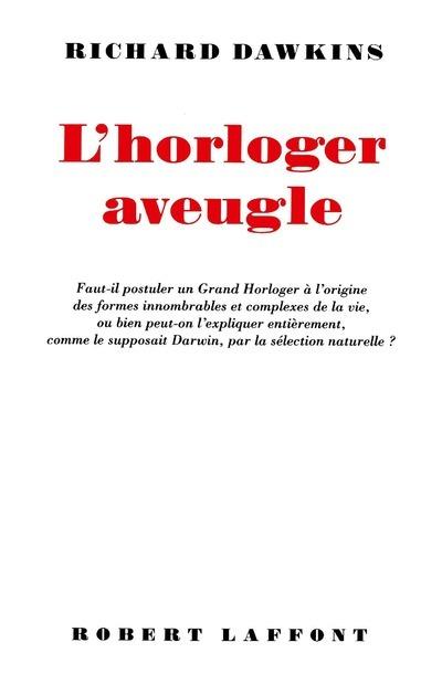 L'HORLOGER AVEUGLE - NE