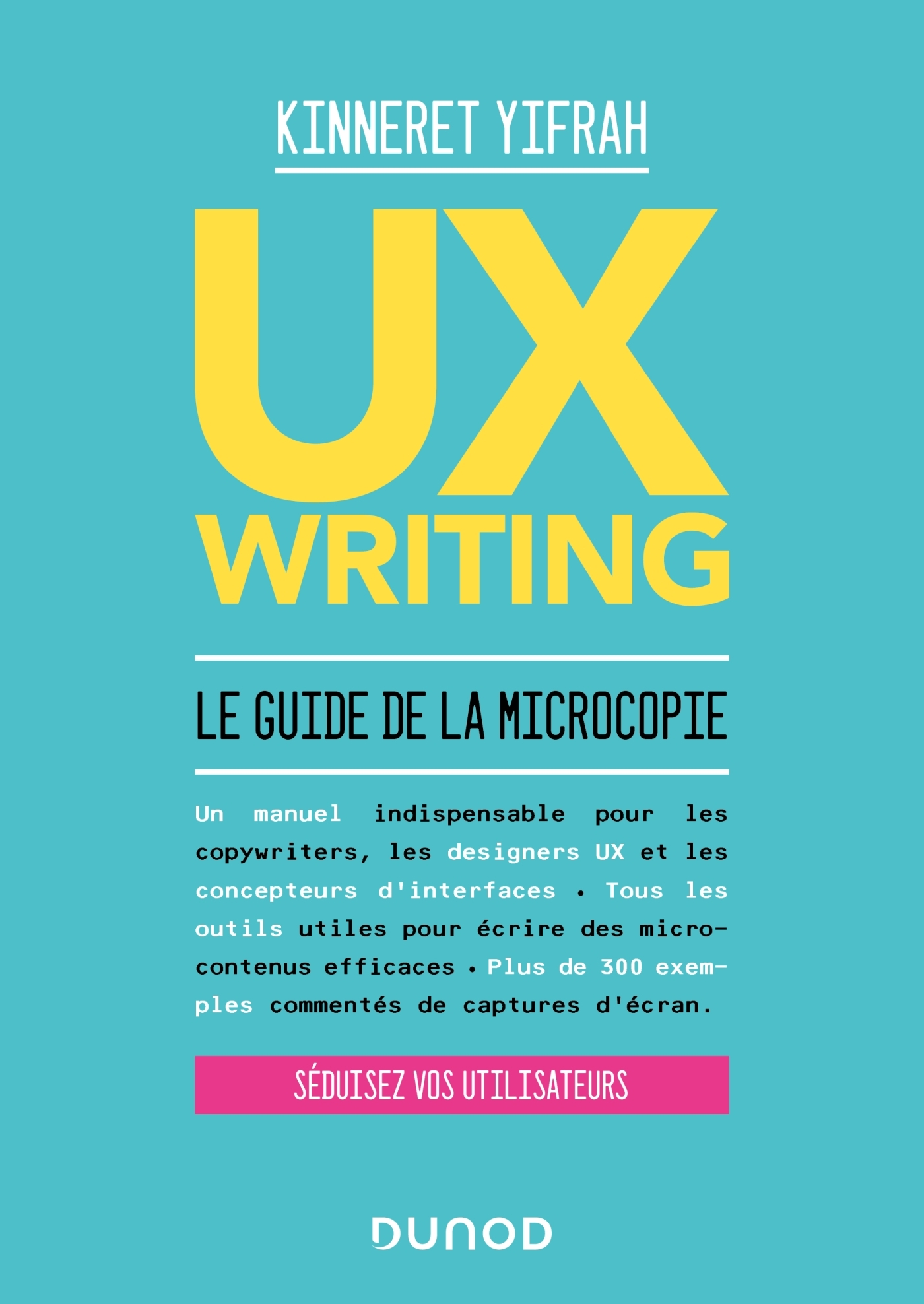UX WRITING - LE GUIDE DE LA MICROCOPIE