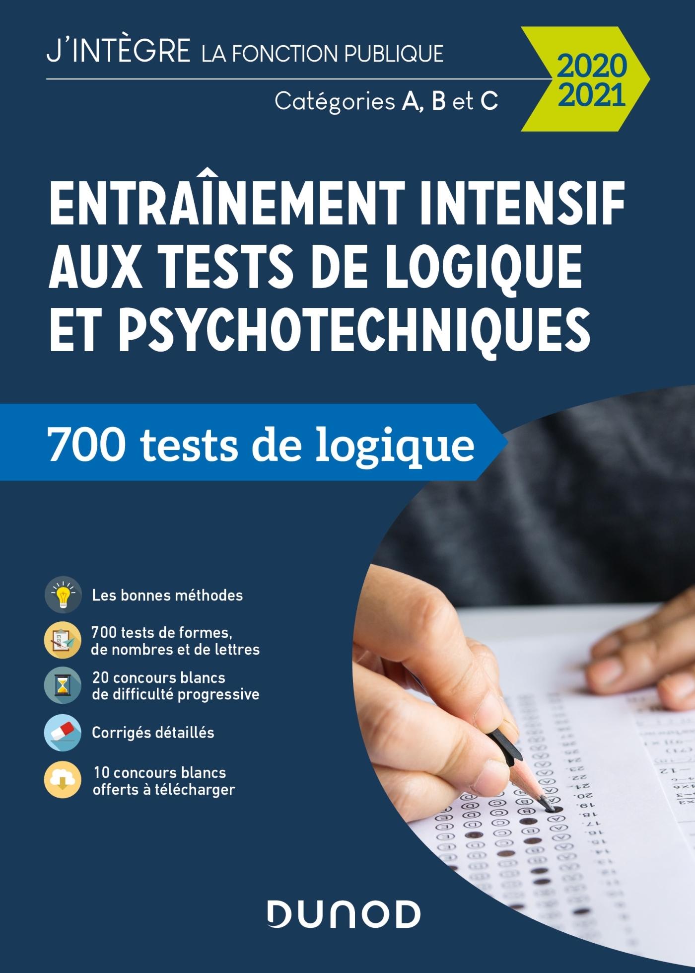 TOUS CONCOURS FONCTION PUBLIQUE - T01 - ENTRAINEMENT INTENSIF AUX TESTS DE LOGIQUE ET PSYCHOTECHNIQU