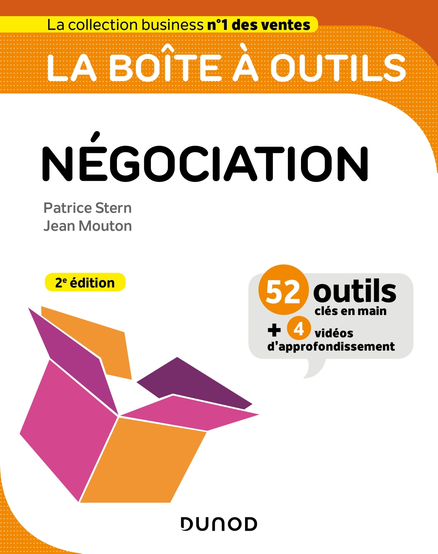 LA BOITE A OUTILS DE LA NEGOCIATION - 2E ED.