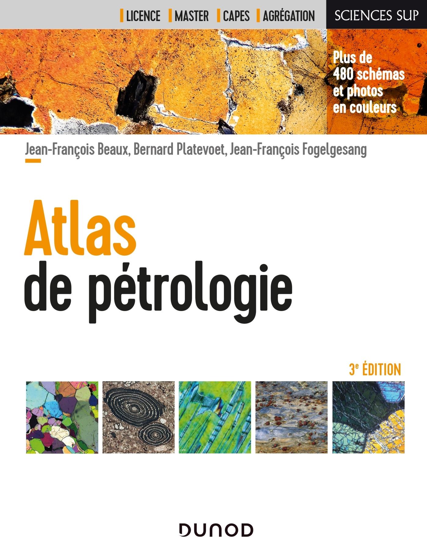 ATLAS DE PETROLOGIE - 3E ED.