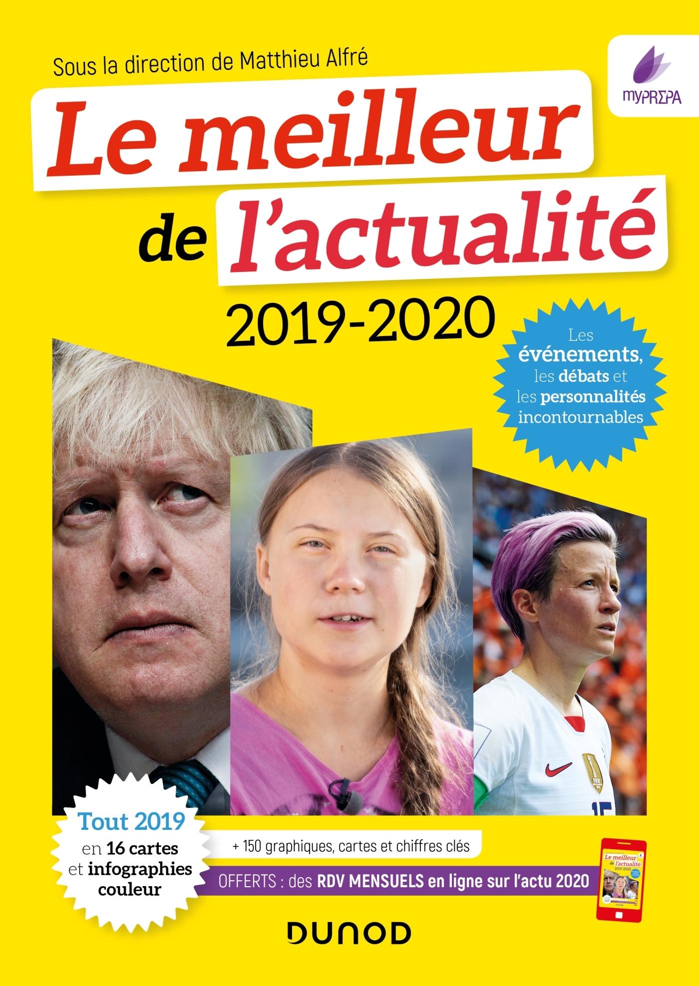 ANNUELS - LE MEILLEUR DE L'ACTUALITE 2019-2020 - CONCOURS ET EXAMENS 2020+ RDV GRATUIT ACTU 2020 EN