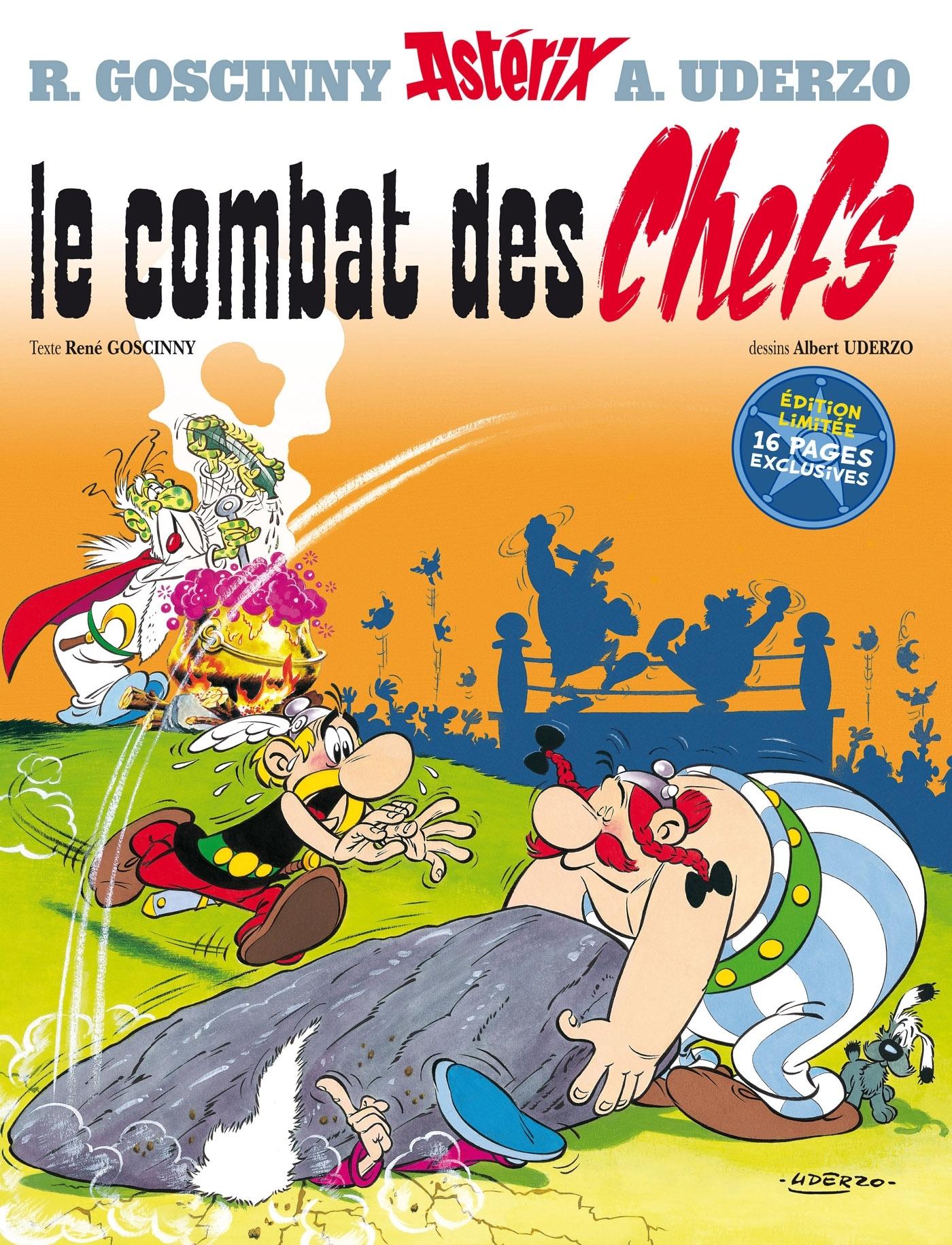 ASTERIX - LE COMBAT DES CHEFS - N 7 - EDITION SPECIALE