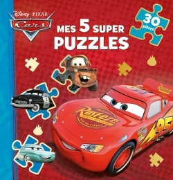 CARS - MES 5 SUPER PUZZLES 30 PIECES