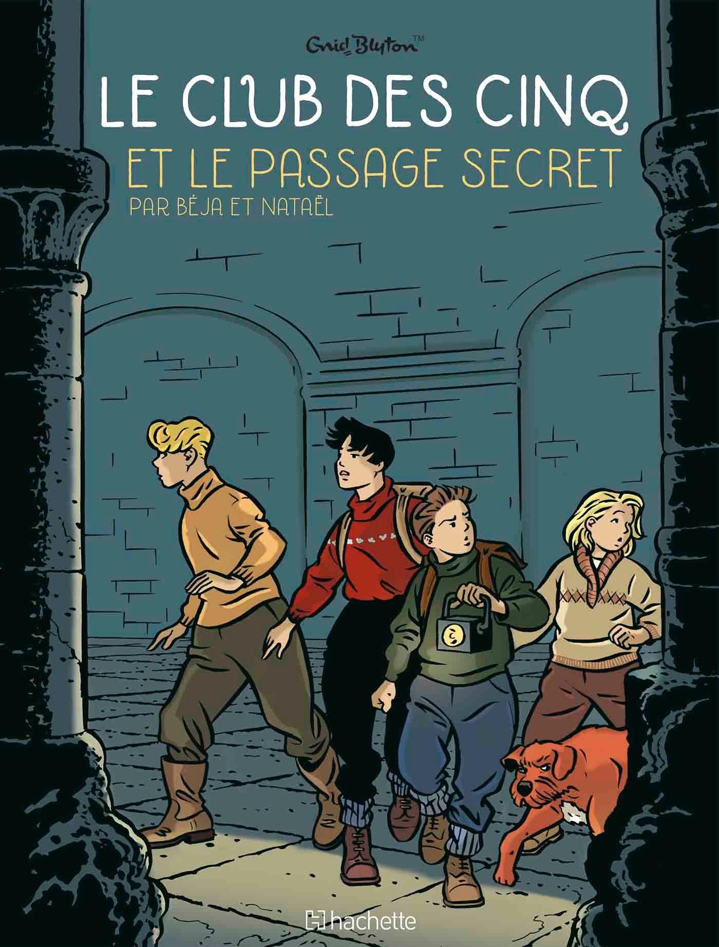 LE CLUB DES 5 T2 - LE PASSAGE SECRET
