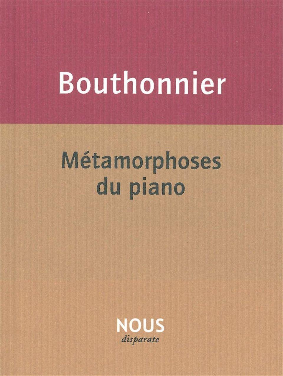 METAMORPHOSES DU PIANO