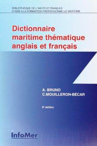 DICT MARITIME THEMATIQUE FRANC/ANGL.