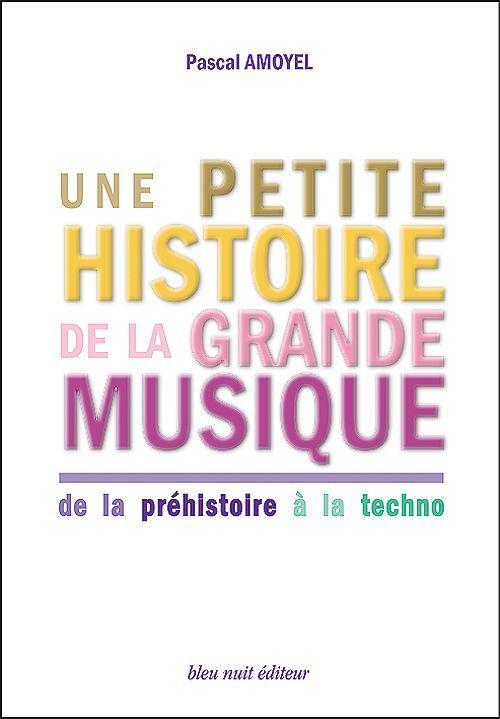 UNE PETITE HISTOIRE DE LA GRANDE MUSIQUE
