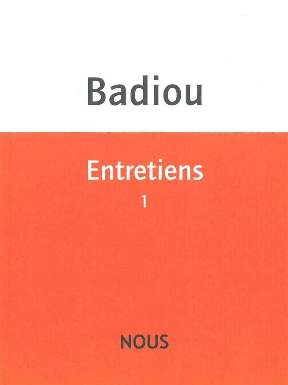 ENTRETIENS 1 - (1981-1996)