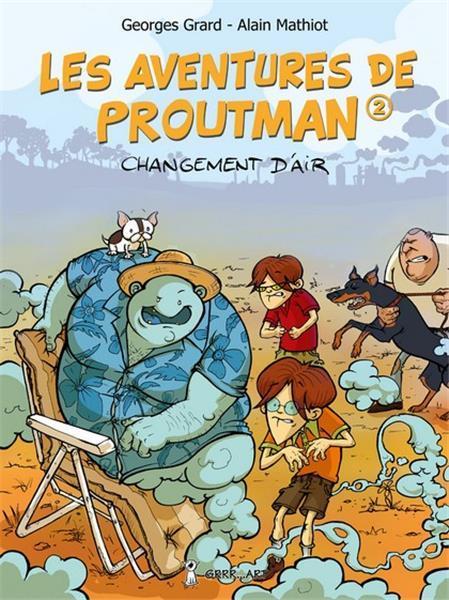 AVENTURES DE PROUTMAN (LES) - T1 : AUTANT EN EMPORTE LE VENT...