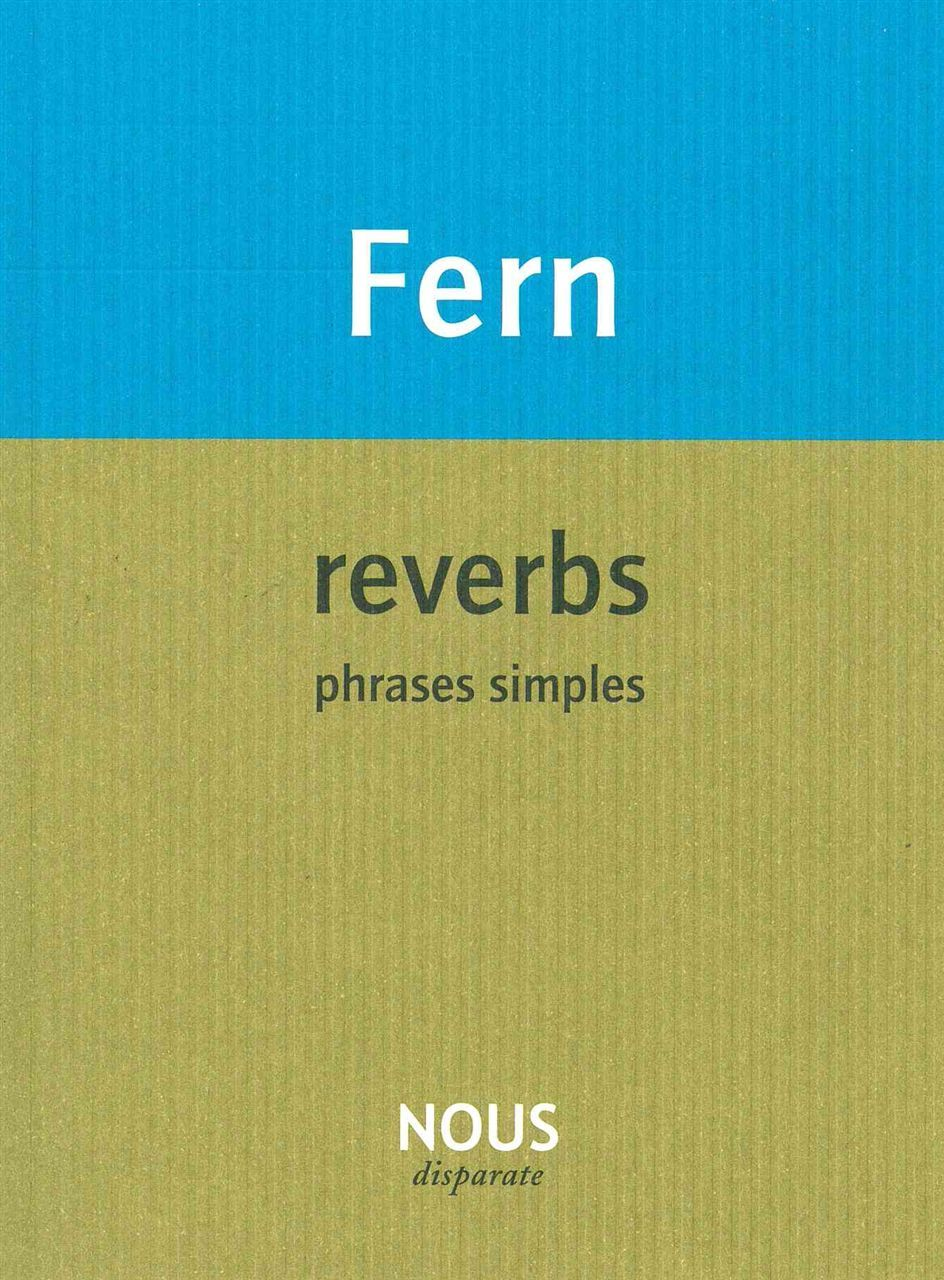 REVERBS - PHRASES SIMPLES