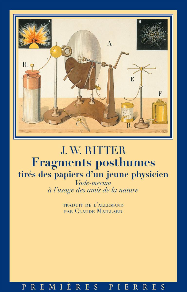 FRAGMENTS POSTHUMES TIRES DES PAPIERS D UN JEUNE PHYSICIEN