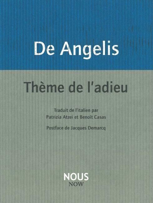 THEME DE L'ADIEU