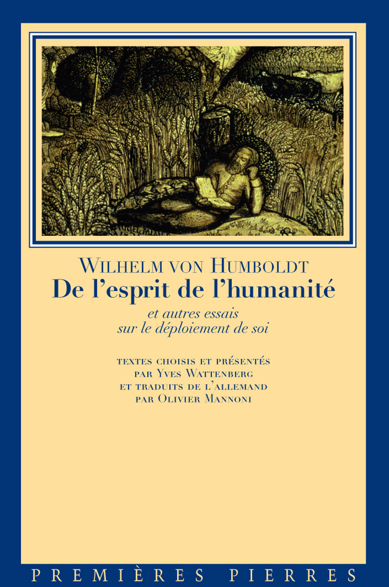 DE L ESPRIT DE L HUMANITE