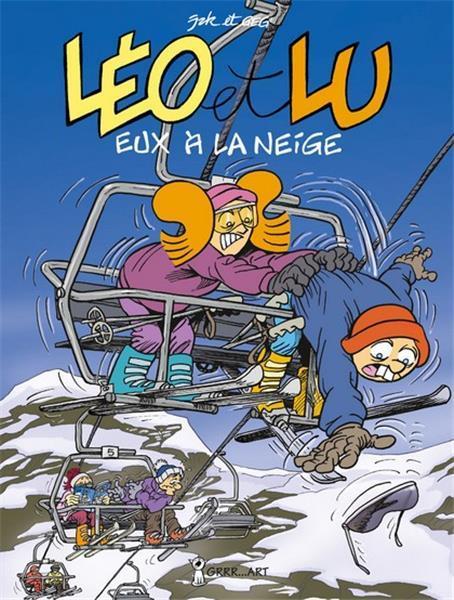"""LEO ET LU 5: """" EUX A LA NEIGE"""