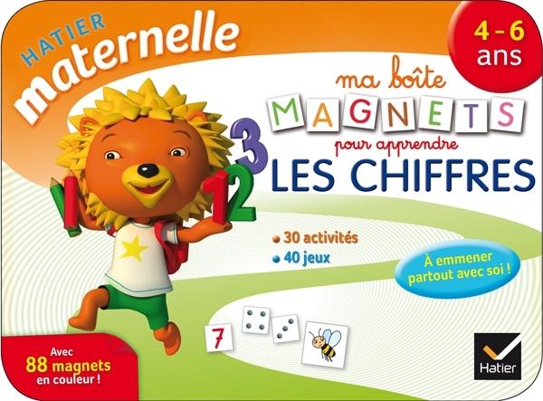 MA BOITE MAGNETS POUR APPRENDRE LES CHIFFRES