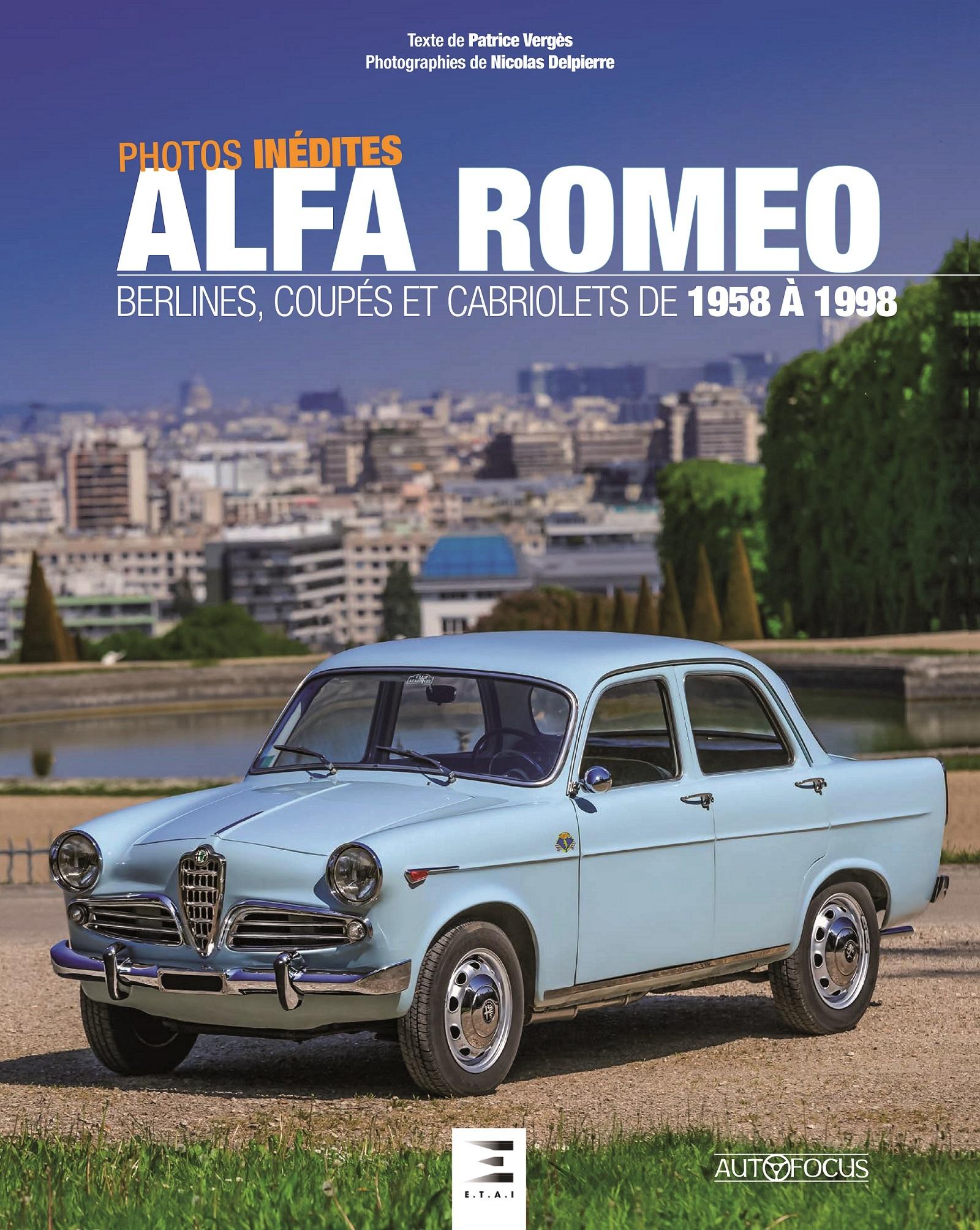 ALFA ROMEO, BERLINES, COUPES ET CABRIOLETS