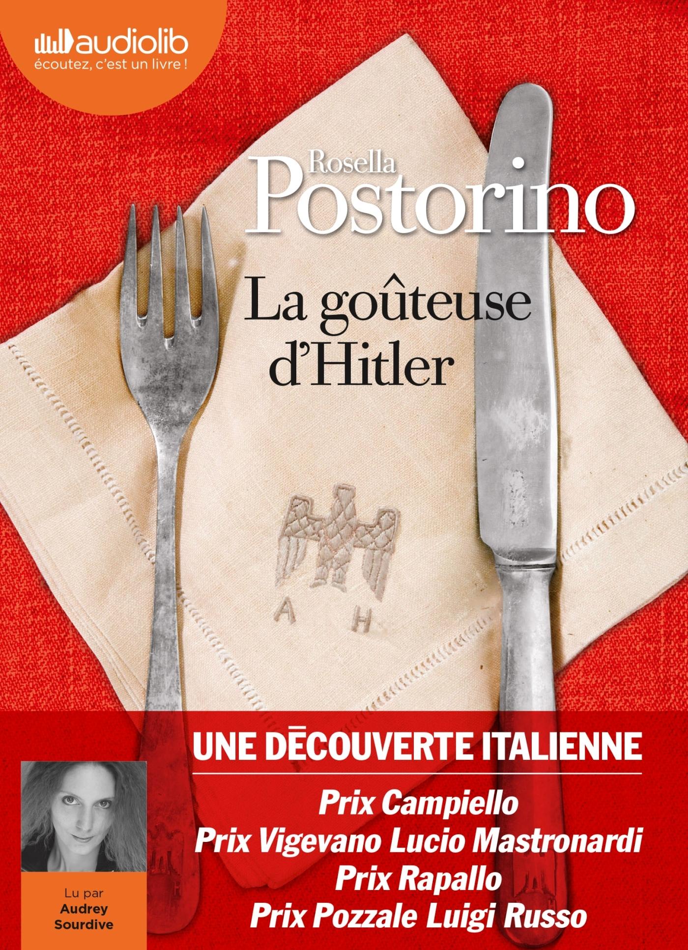 LA GOUTEUSE D'HITLER - LIVRE AUDIO 1 CD MP3