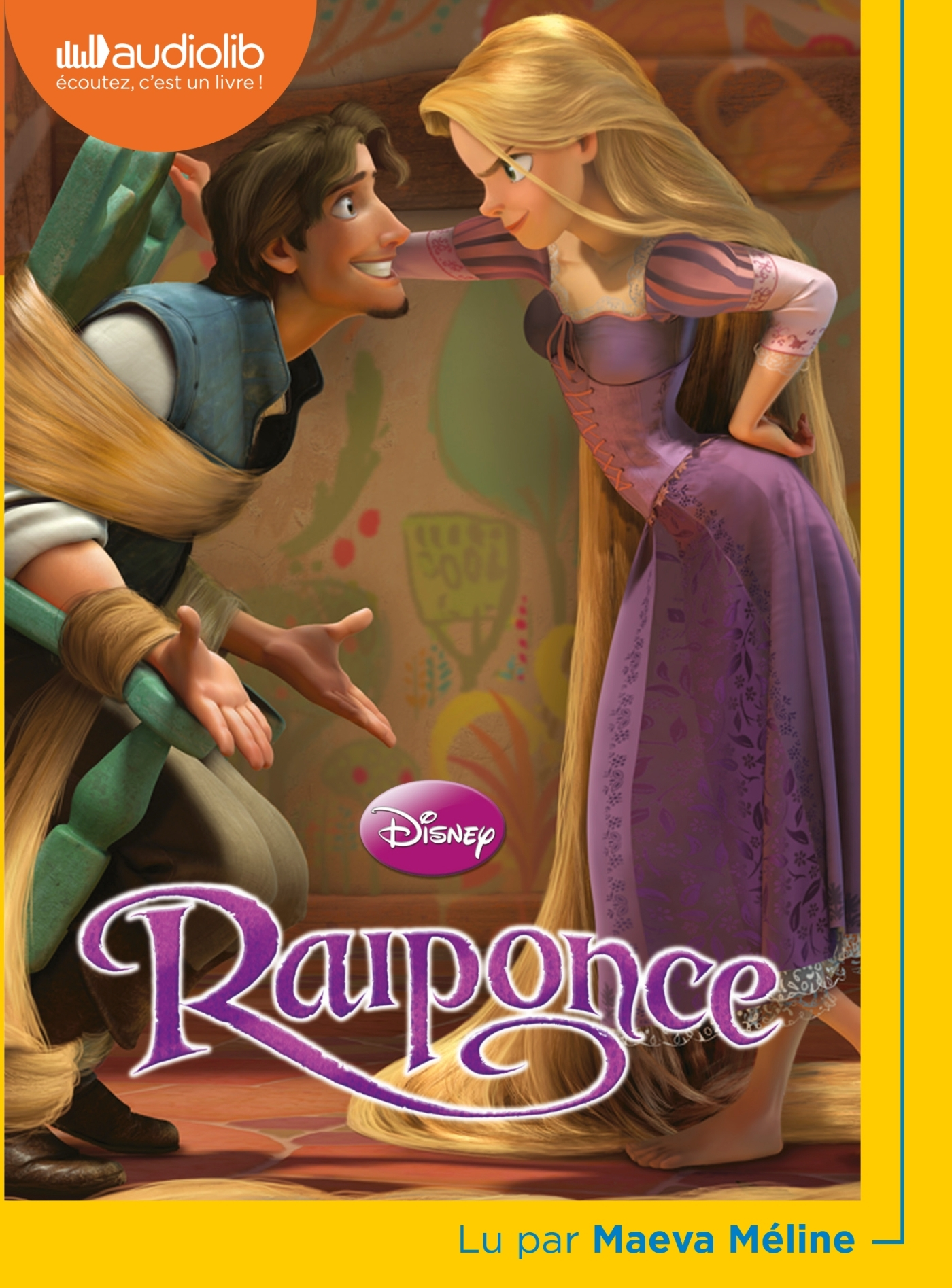 RAIPONCE - LIVRE AUDIO 1 CD MP3