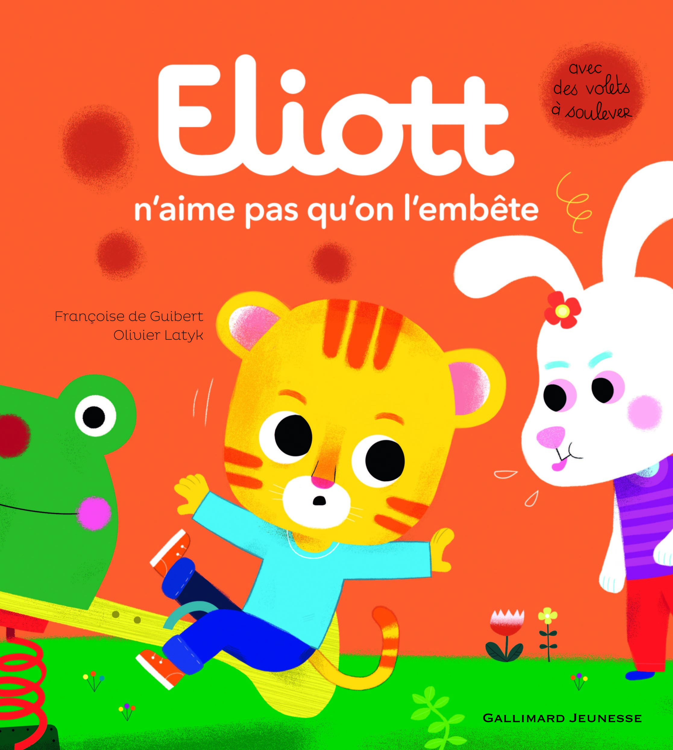 ELIOTT N'AIME PAS QU'ON L'EMBETE