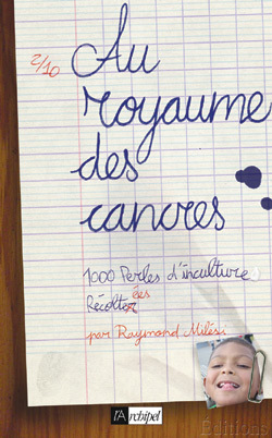 AU ROYAUME DES CANCRES