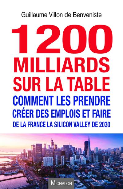 1200 MILLIARDS SUR LA TABLE. COMMENT LES PRENDRE ?