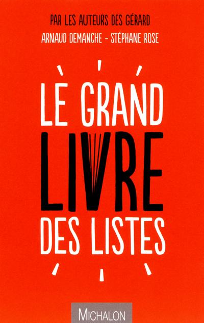 LE GRAND LIVRE DES LISTES