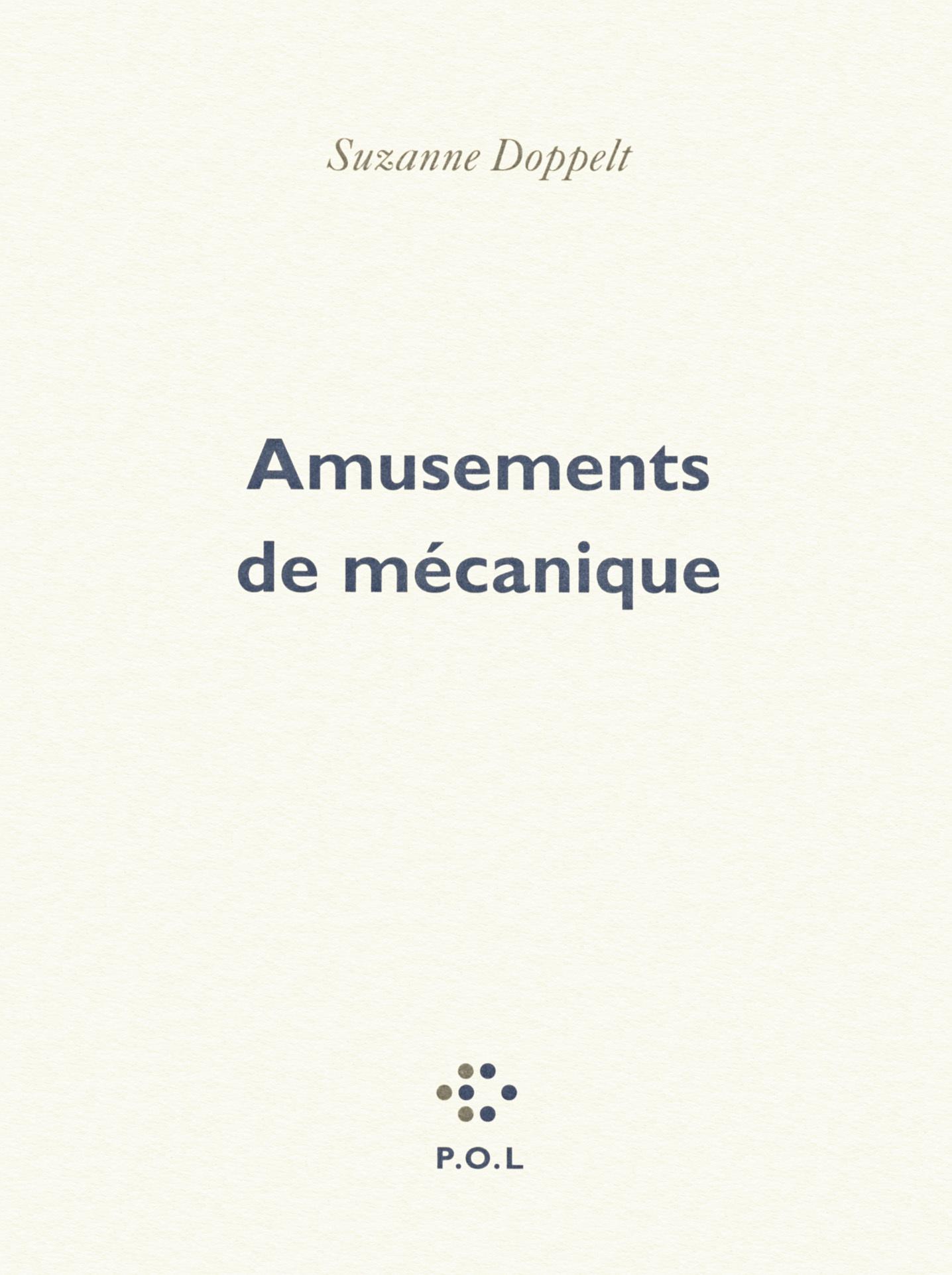 AMUSEMENTS DE MECANIQUE