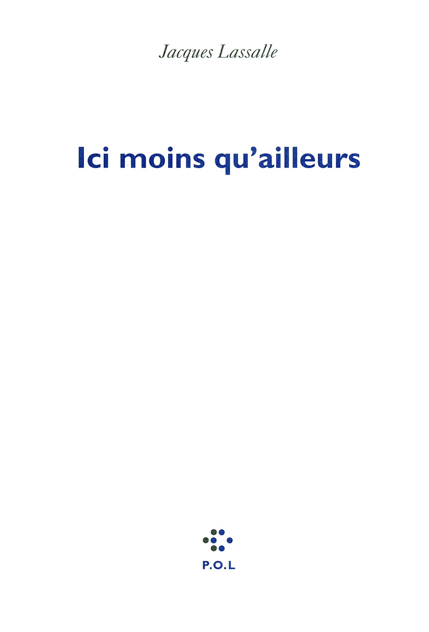 ICI MOINS QU'AILLEURS