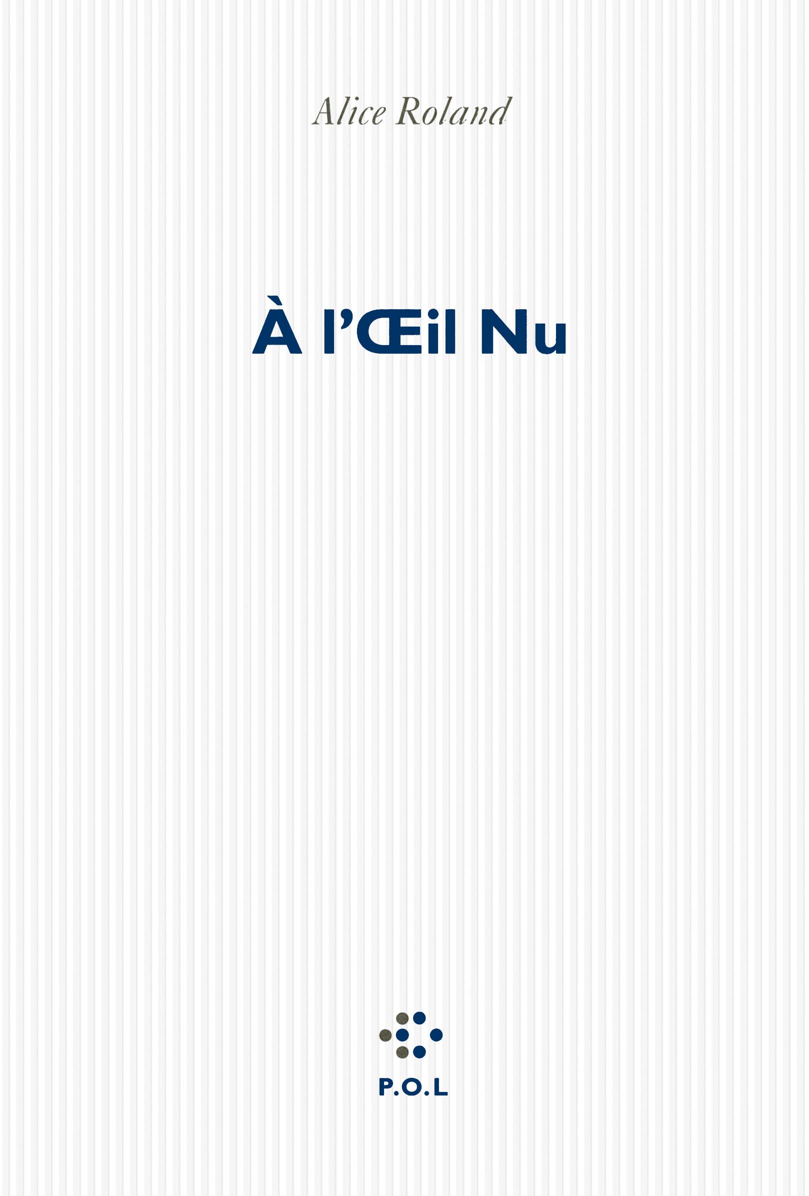 A L'OEIL NU