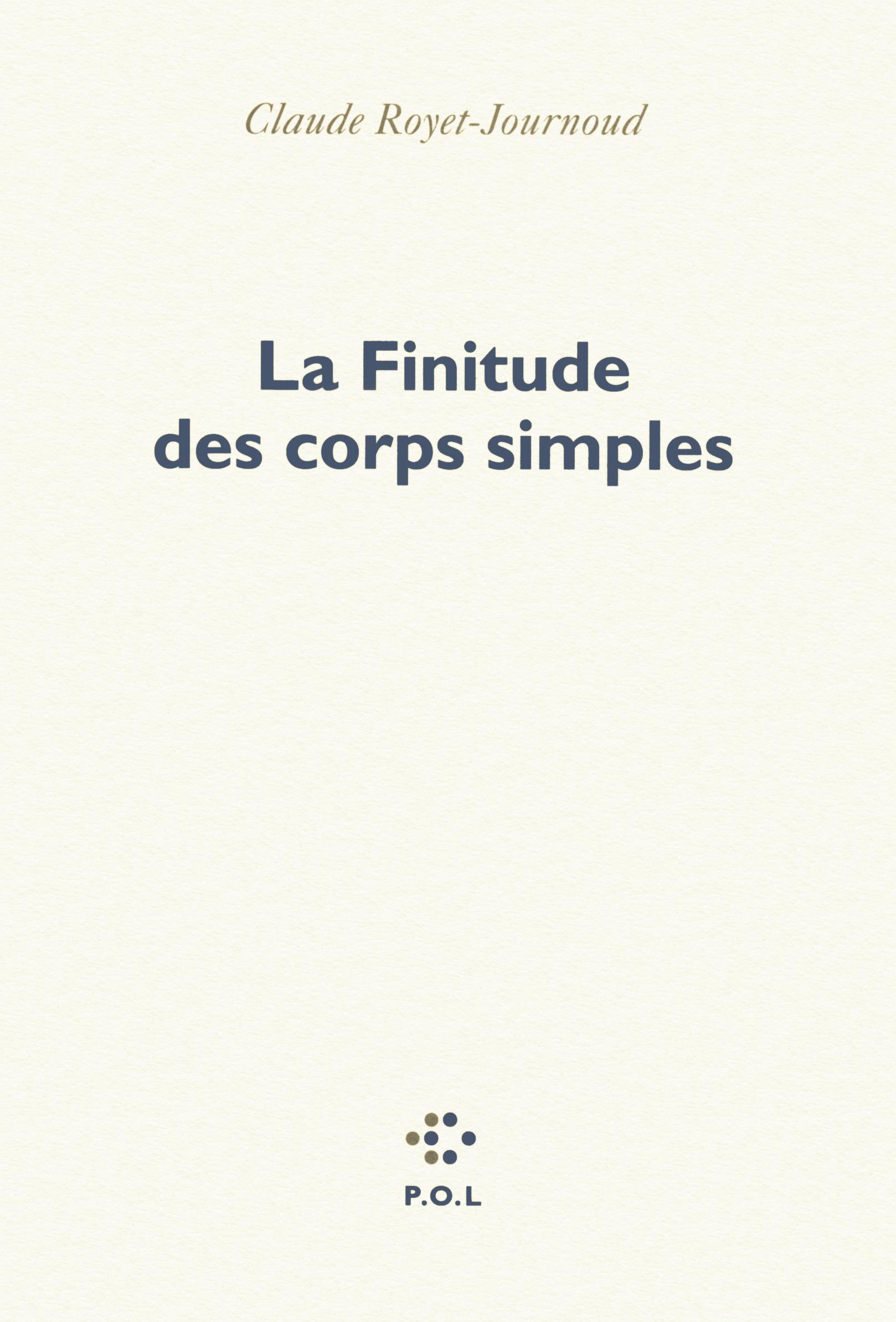 LA FINITUDE DES CORPS SIMPLES