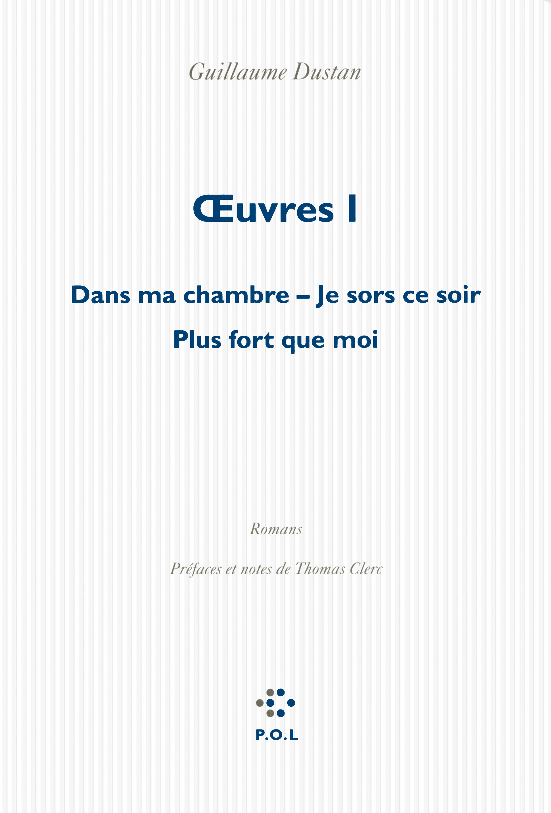 OEUVRES (TOME 1)