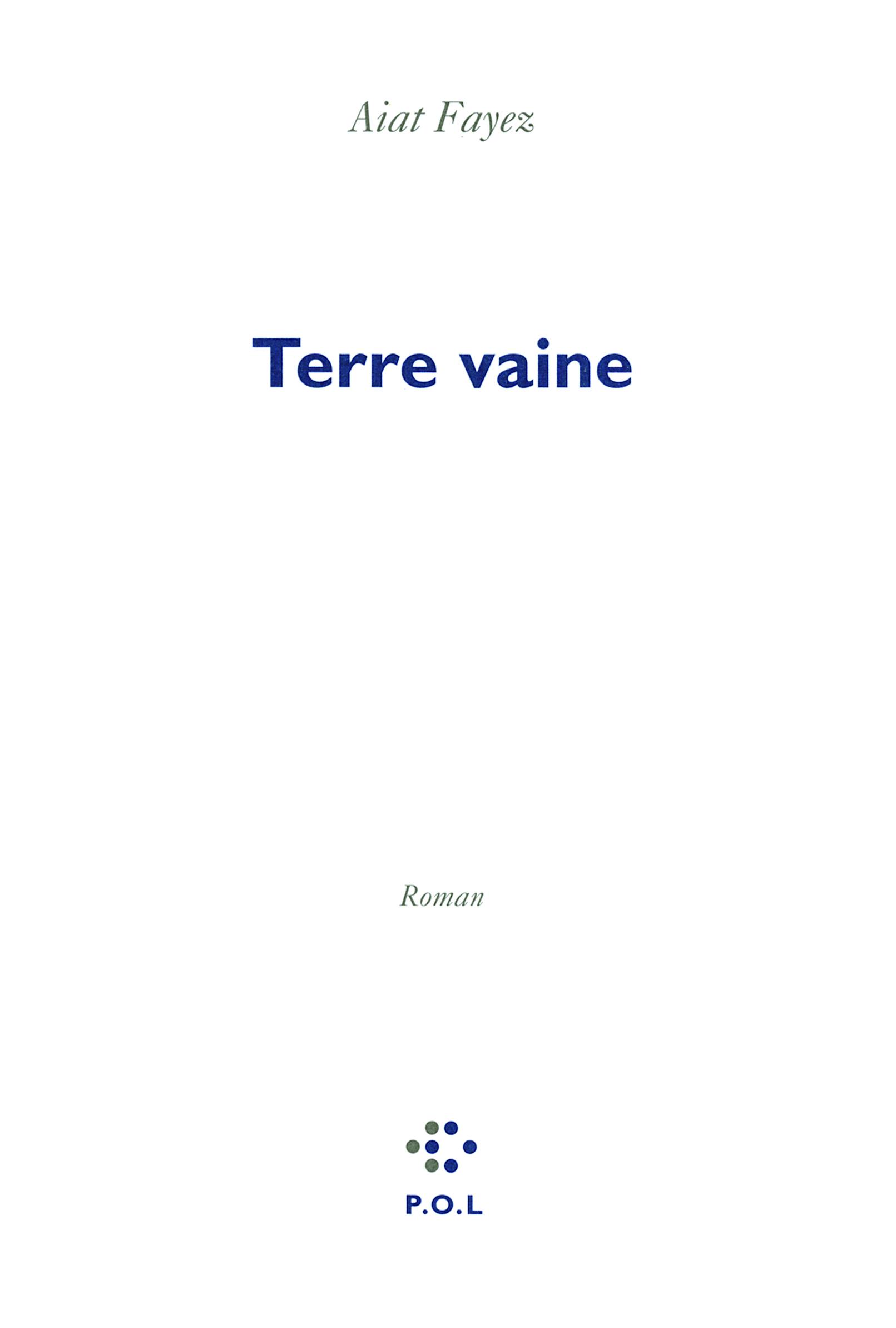 TERRE VAINE