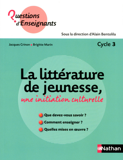 LITTERATURE DE JEUNESSE CYCLE3