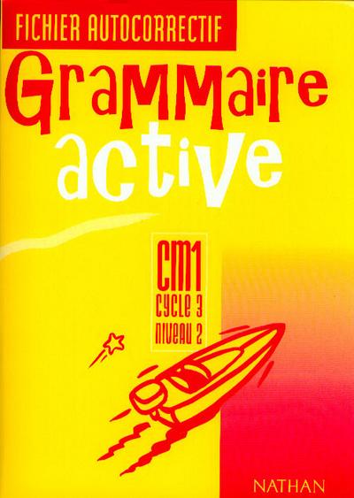 GRAMMAIRE ACTIVE CM1 FI.AUTOC.