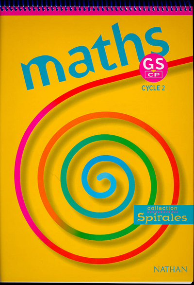MATHS SPIRALES GS CP ELEVE
