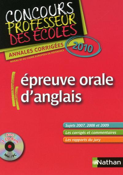 EPREUVE ORALE D'ANGLAIS CRPE