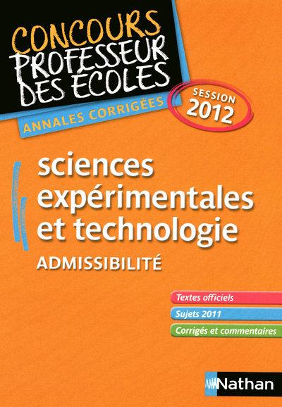 SCIENCES CRPE 2012 (ADMISSIBIL