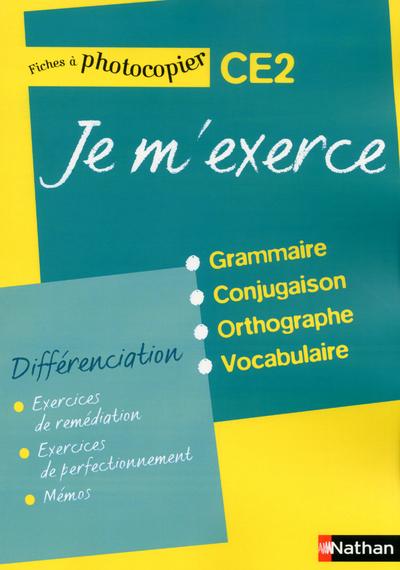 JE M'EXERCE CE2 - FICHES DIFFE