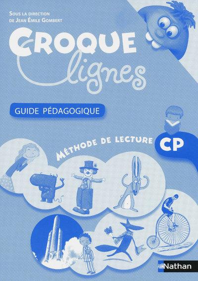 CROQUE-LIGNES - LIVRE DU MAITRE - CP