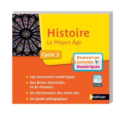 CLE USB - HISTOIRE MOYEN-AGE - C3