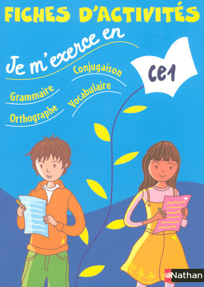 JE M'EXERCE FICHIER ELEVE CE1