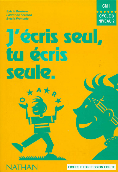 J ECRIS SEUL CM1 ELEVE