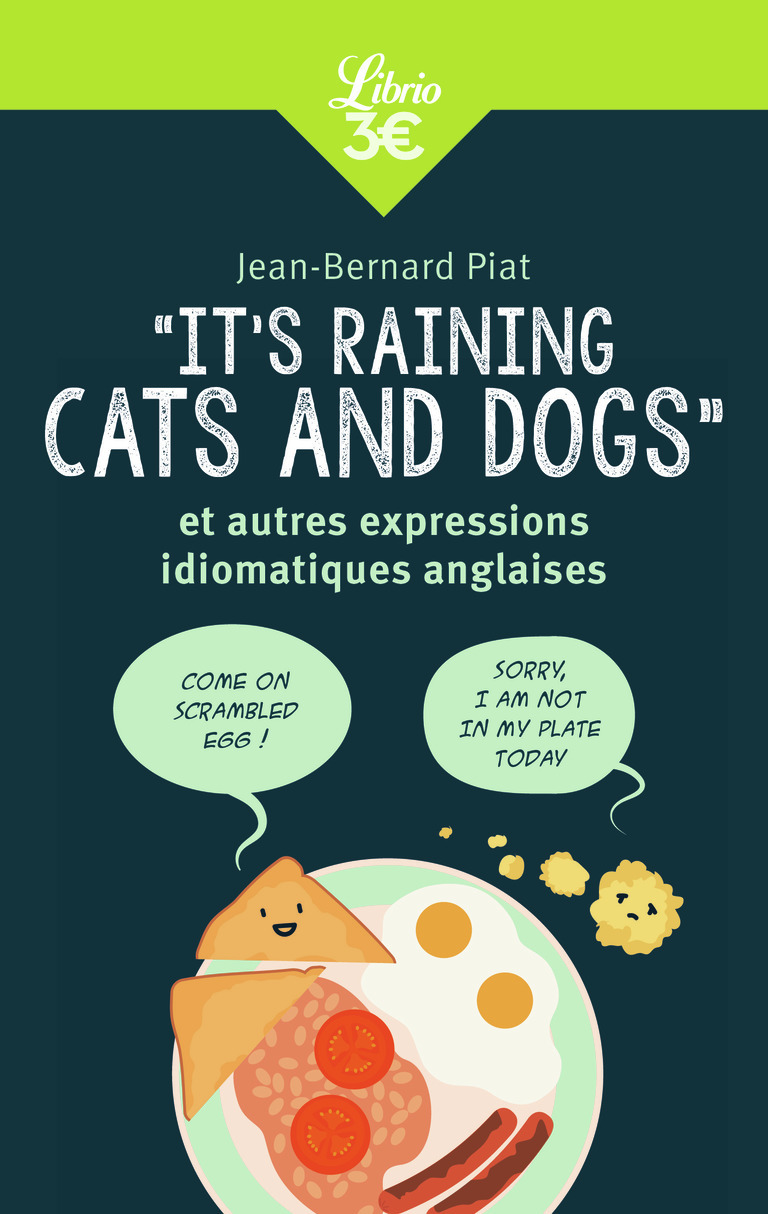 MEMO -  IT'S RAINING CATS AND DOGS  ET AUTRES EXPRESSIONS IDIOMATIQUES ANGLAISES