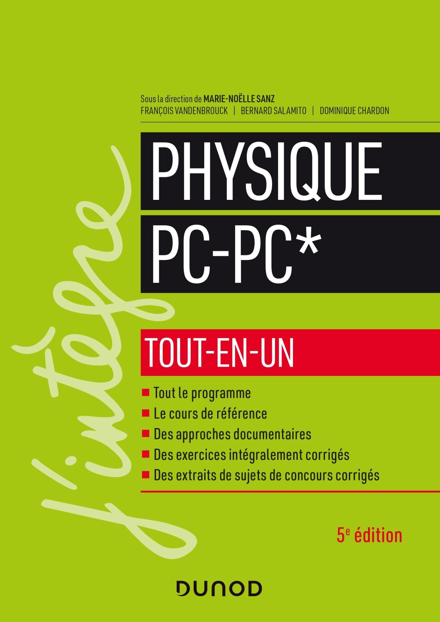 PHYSIQUE PC-PC* TOUT-EN-UN - 5E ED.