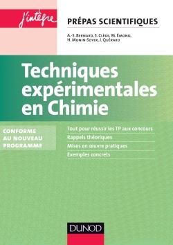 TECHNIQUES EXPERIMENTALES EN CHIMIE - 2E ED. - CONFORME AU NOUVEAU PROGRAMME
